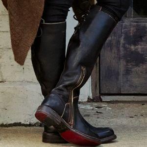 BED STU Manchester Boots Black